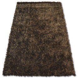 Shaggy lilou szőnyeg barna