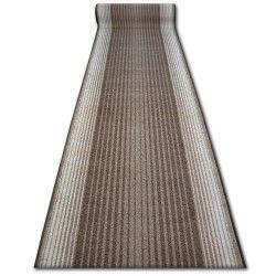Vastag csúszásgátló futó szőnyeg CAPITOL barna
