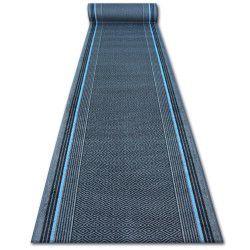 Vastag csúszásgátló futó szőnyeg JURA szürke rombusz