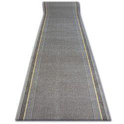 Vastag csúszásgátló futó szőnyeg JURA taupe rombusz