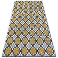 Lisboa szőnyeg 27206/275 Virágok Sárga