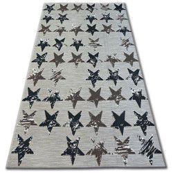 Lisboa szőnyeg 27219/975 Csillagok Barna