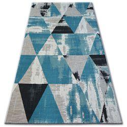 Lisboa szőnyeg 27216/754 Háromszögek Türkiz