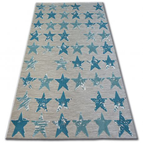 Lisboa szőnyeg 27219/754 Csillagok Türkiz