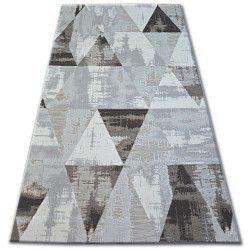 Lisboa szőnyeg 27216/655 Háromszögek Barna