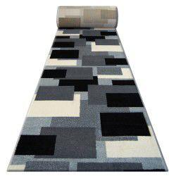 Heat-set Fryz futó szőnyeg PILLY - 8404 krém/antracit