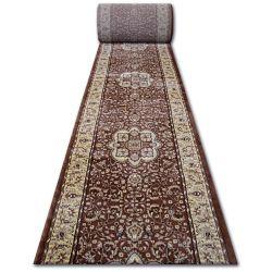 Heat-set futó szőnyeg ROYAL AGY 0521 barna