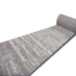 Shaggy futó szőnyeg LONG 5cm minta 3383 elefántcsont bézs