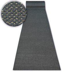 Sizal futó szőnyeg FLOORLUX minta 20433 fekete SIMA
