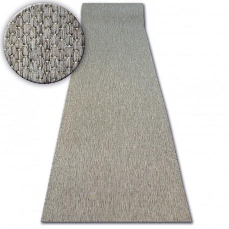 Sizal futó szőnyeg FLOORLUX minta 20433 taupe SIMA