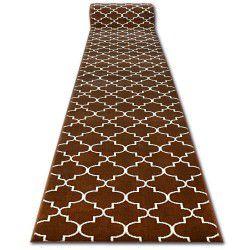 Bcf futó szőnyeg BASE 3770 barna Lóhere Marokkói Trellis