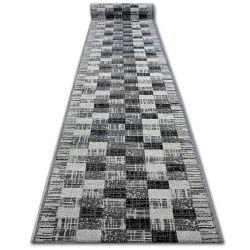 Bcf futó szőnyeg BASE négyzetek szürke négyzetek