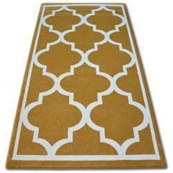 Sketch szőnyeg - F730 arany/krém Lóhere Marokkói Trellis