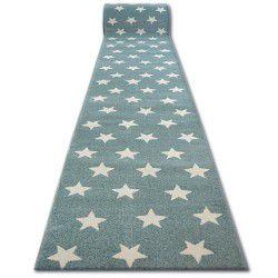 Sketch futó szőnyeg - FA68 türkiz/krém - Csillagok