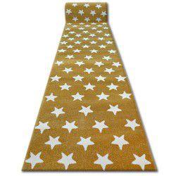 Sketch futó szőnyeg - FA68 arany/krém - Csillagok