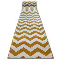 Sketch futó szőnyeg - FA66 arany/krém - Cikcakk