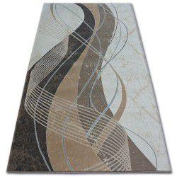 Argent szőnyeg - W4807 Hullám Krém / Barna