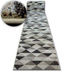 Shadow futó szőnyeg 636 l. Bézs / krém - Háromszögek