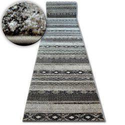 Shadow futó szőnyeg 1835 krém / barna - Rombusz
