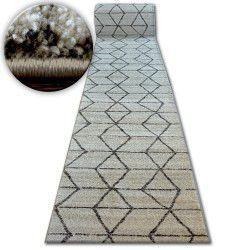 Shadow futó szőnyeg 818 krém / l. Bézs - Háromszögek