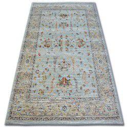 Argent szőnyeg - W7039 Virágok Kék / Krém