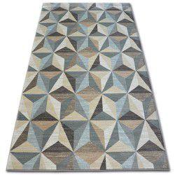 Argent szőnyeg - W6096 Háromszögek Bézs / Kék