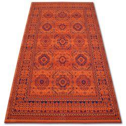 Vera szőnyeg 3240 Rozetta terra / kék GYAPJÚ