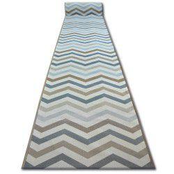 Csúszásgátló futó szőnyeg SKY bézs Cikcakk