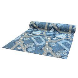 Csúszásgátló Gyerekeknek szőnyegpadló szőnyeg STREET kék