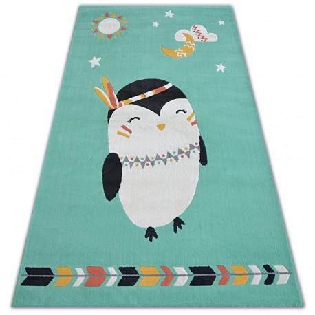 Pastel szőnyeg 18401/043 - PINGVIN zöld