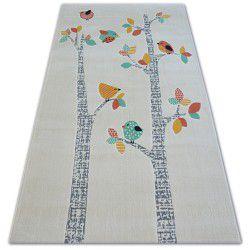 Pastel szőnyeg 18405/063 - MADARAK krém