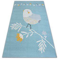 Pastel szőnyeg 18404/032 - MADÁR kék