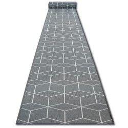 Csúszásgátló futó szőnyeg SKY szürke HEXAGON