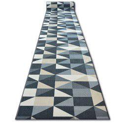 Csúszásgátló futó szőnyeg SKY szürke TRIANGLES