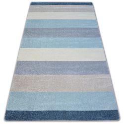 Nordic szőnyeg CSÍKOK krém/kék G4577