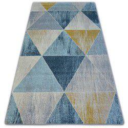 Nordic szőnyeg TRIANGLE kék/krém G4584