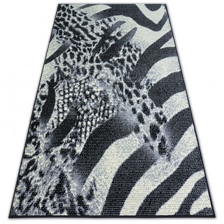 Bcf flash szőnyeg SAFARI 3912 fekete/szürke