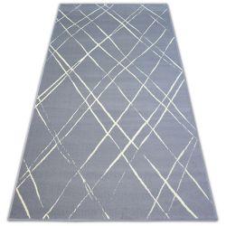 Bcf szőnyeg BASE STROKES 3970 négyzetek szürke
