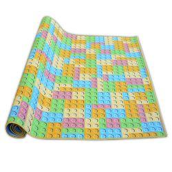 Gyerekeknek szőnyegpadló szőnyeg LEGO