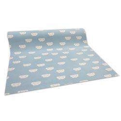 Csúszásgátló Gyerekeknek szőnyegpadló szőnyeg FELHŐK kék