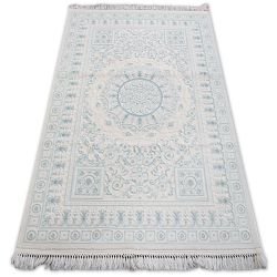 Akril mirada szőnyeg 5409 Kék ( Mavi ) rojt