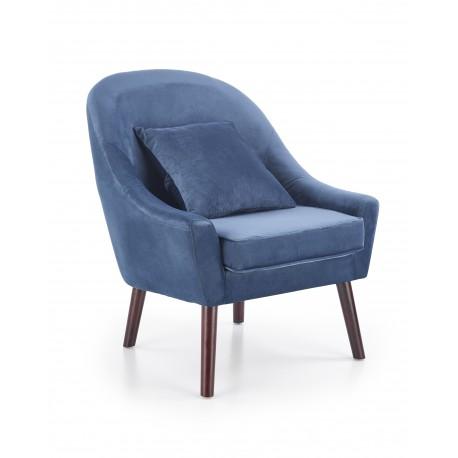 Fotel OPÁLE sötét -kék