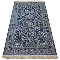 Windsor szőnyeg 22935 JACQUARD sötét kék - Virágok