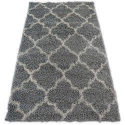 Shaggy galaxy szőnyeg Trellis Lóhere Marokkói - 8175 szürke