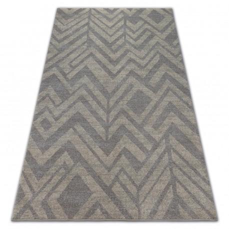 Soft szőnyeg 8028 etno halszálkás barna / bézs