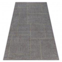 Soft szőnyeg 8031 téglalapok barna / bézs