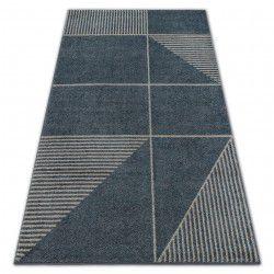 Soft szőnyeg 8043 modern etno szürke