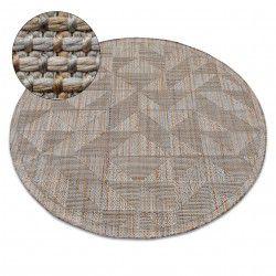 Nature szőnyeg kör SL160 bézs SIZAL boho