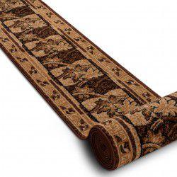 Bcf futó szőnyeg BASE 3706 floraL barna