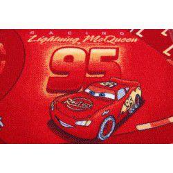 Disney szőnyegpadló szőnyeg AUTÓK piros